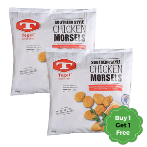 Tegel Southern Style Chicken Morsels New Zealand 600g + 600g