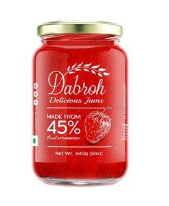 Dabroh Strawberry Jam 340g