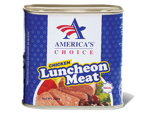America's Choice Chicken Luncheon Meat 320g