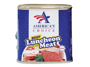 America's Choice Beef Luncheon Meat 320g
