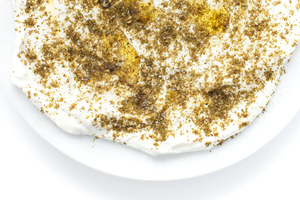 Labneh Zaatar Mixed With Oil 1pack