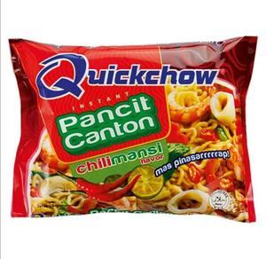 Quickchow Pancit Canton Chili 6x65g