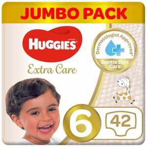 Huggies Extra Care Size 6 Jumbo 42s