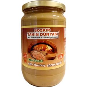 Bozkir Double Roasted Tahin (Cifte Kavrulmus Tahin) 750g