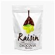 Chocovia Chocolatier Dark Chocolate With Raisins (Uzumlu Bitter Cikolata) 120g