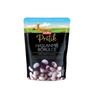 Duru Boiled Blackeyed Beans (Haslanmis Borulce) 400g