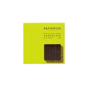 Patiswiss Pistachio Dark Chocolate 70g