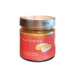 Patiswiss Peanut Paste No Sugar 210g