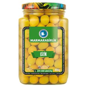 Marmarabirlik Scratched Green Olives 400g