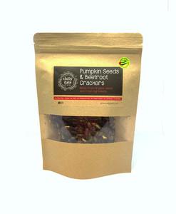 Chilly Date Pumpkin Seeds & Beetroot Cracker 75g