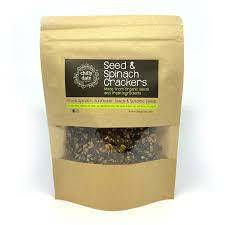 Chilly Date Seeds & Spinach Cracker 75g