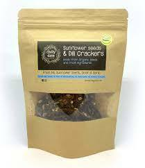 Chilly Date Sunflower Seed & Dill Cracker 75g
