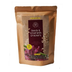 Chilly Date Seeds & Amaranth Crackers 75g
