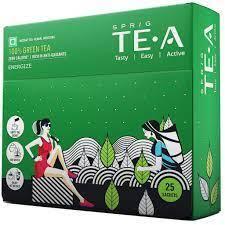 Sprig Green Tea Bag 25s