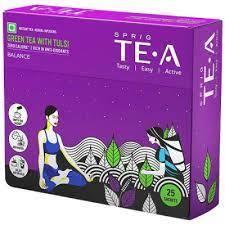 Sprig Green Tea With Tulsi Bag 25s