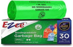 Easy Clean Garbage Bags Degradable 90x110cm 15s