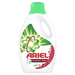 Ariel Detergent Liquid Fragrant Rose 3L