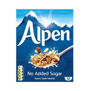 Alpen Muesli No Added Sugar 550g+100g