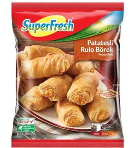 Super Fresh Mini Rolls With Potato 500g