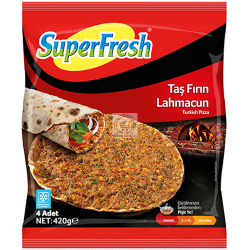 Super Fresh Lahmacun With Soy 420g