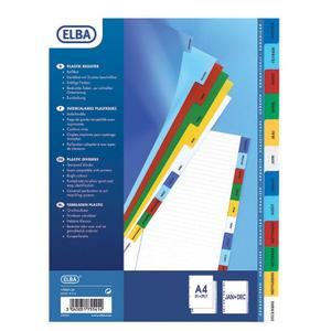Elba A4 Month Indicator 1pc