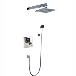 Milano Pvc Silver Shower 1pc