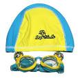 Universal Minnions Swim Cap Goggle 1pc