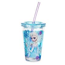 Disney Frozen Tumbler With Straw 1pc