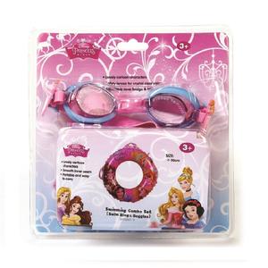 Disney Princess Swim Ring + Goggle Set 1pc