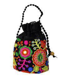Traditonal Fabric Bag 1pc