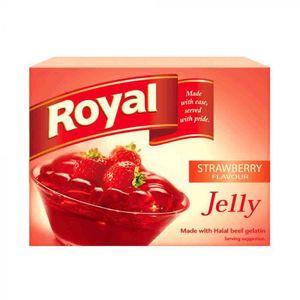 Royal Strawberry Jelly 12x85g