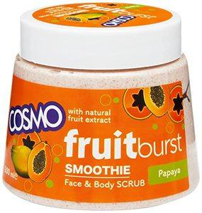 Cosmo Exfoliating Face Scrub Papaya 170ml
