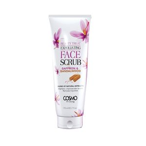 Cosmo Exfoliating Face Scrub Saffron & Sandalwood 170ml
