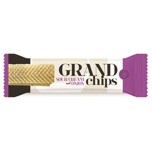 Grand Potato Chips Sour Cream & Onion 90g