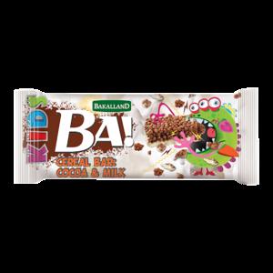 Ba Cereal Bar Cocoa & Milk 25g