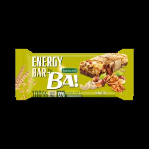 Ba Energy Bar 5 Nuts 40g