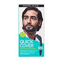 Quick Cover Hair Color for Men Natural Black 60ml