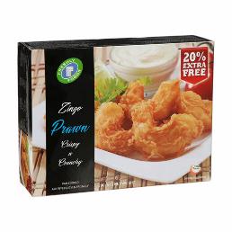 Freshly Foods Fish Zing Prawn + Zing Fish Fillet 340g