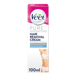 Veet Pure Bikini Cream Kit 2x50ml