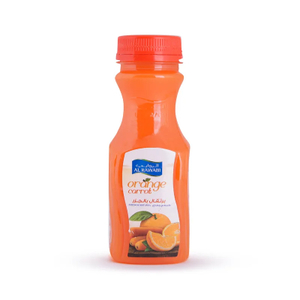 Al Rawabi Orange Carrot Juice 200ml