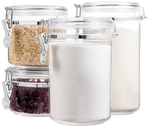 Vague Food Container Jar 1pc