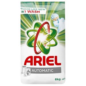 Ariel Detergent Powder Original Green 6kg