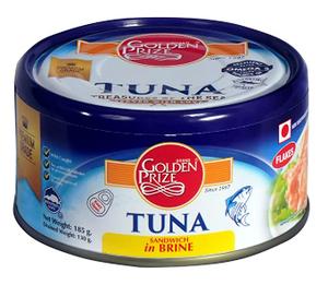 Golden Prize Tuna Flakes 4x185g