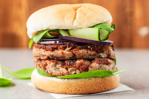 The Good Food Vegan Mellow Mushroom Burger 4x100g