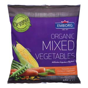 Emborg Organic Mixed Vegetables 400g