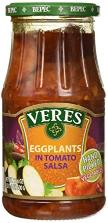 Veres Eggplants Tomato Salsa 500g