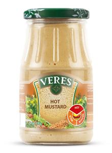 Veres Hot Mustard Jar 190g