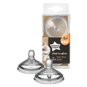 Tommee Tippee Closer To Nature Teats 2pcs