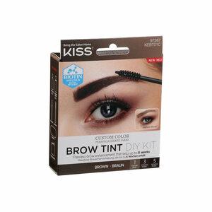 Kiss Eyebrow Tint Diy Kit Brown Kebt01C 1pc