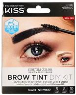 Kiss Eyebrow Tint Diy Kit Black Kebt02C 1pc